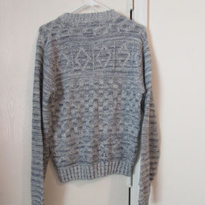 7d9c40e7c4 MEN S PINE STATE LONG SLEEVED KNIT SWEATER Large